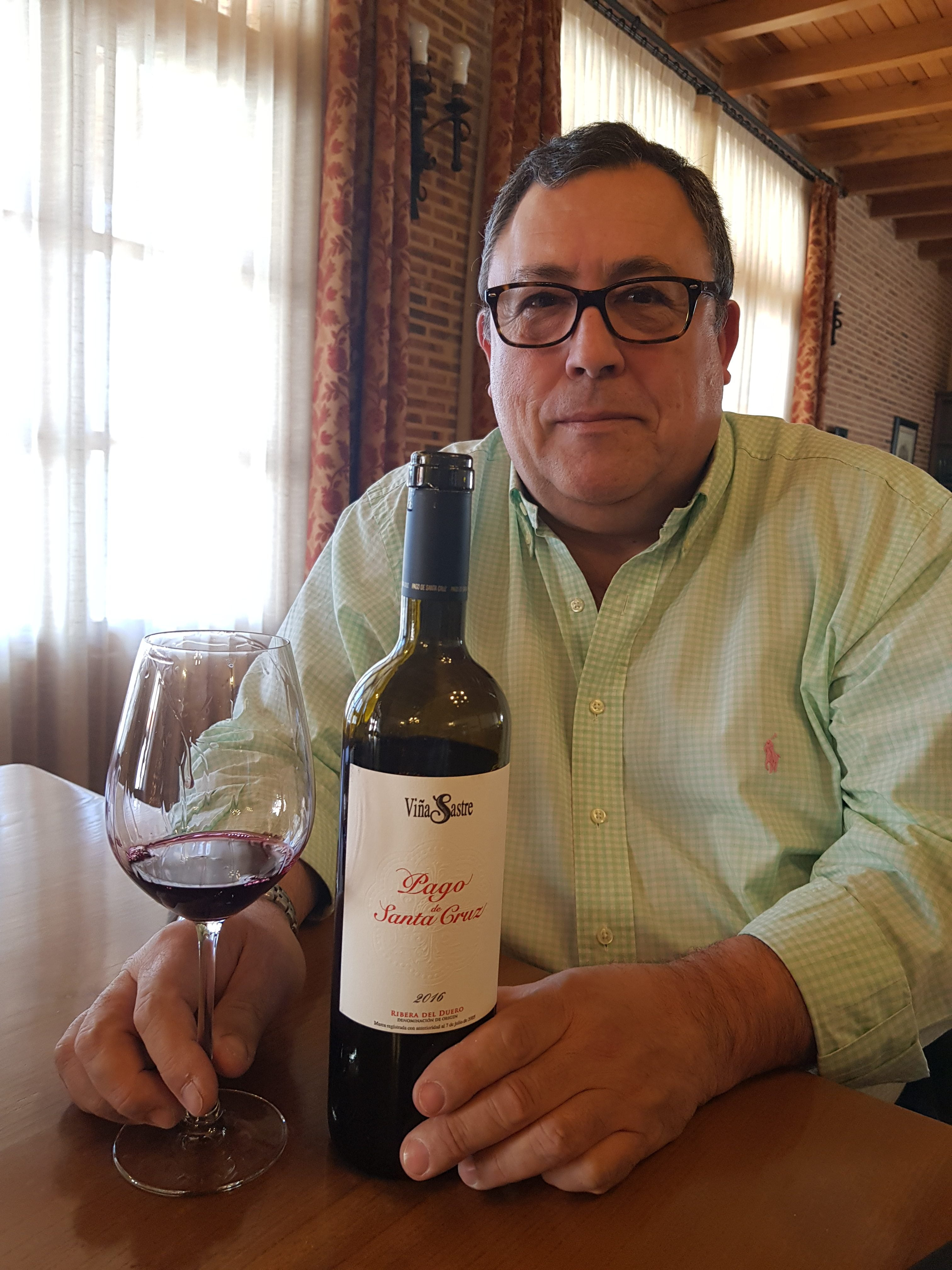 Euginio Bayon מנכל Viña Sastre