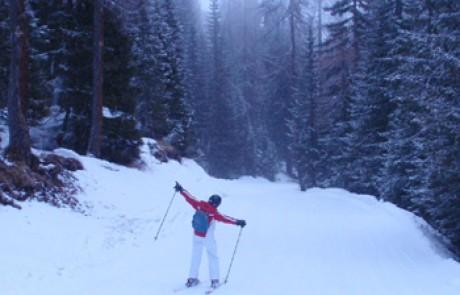 סקי בקורטינה